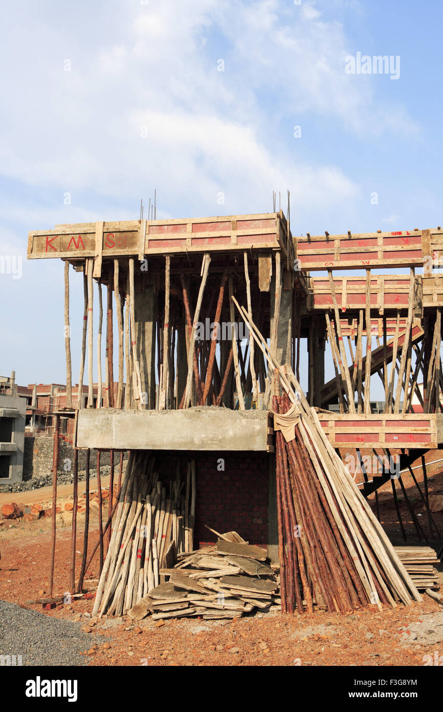 House under construction talegaon pune maharashtra for Building a house in india