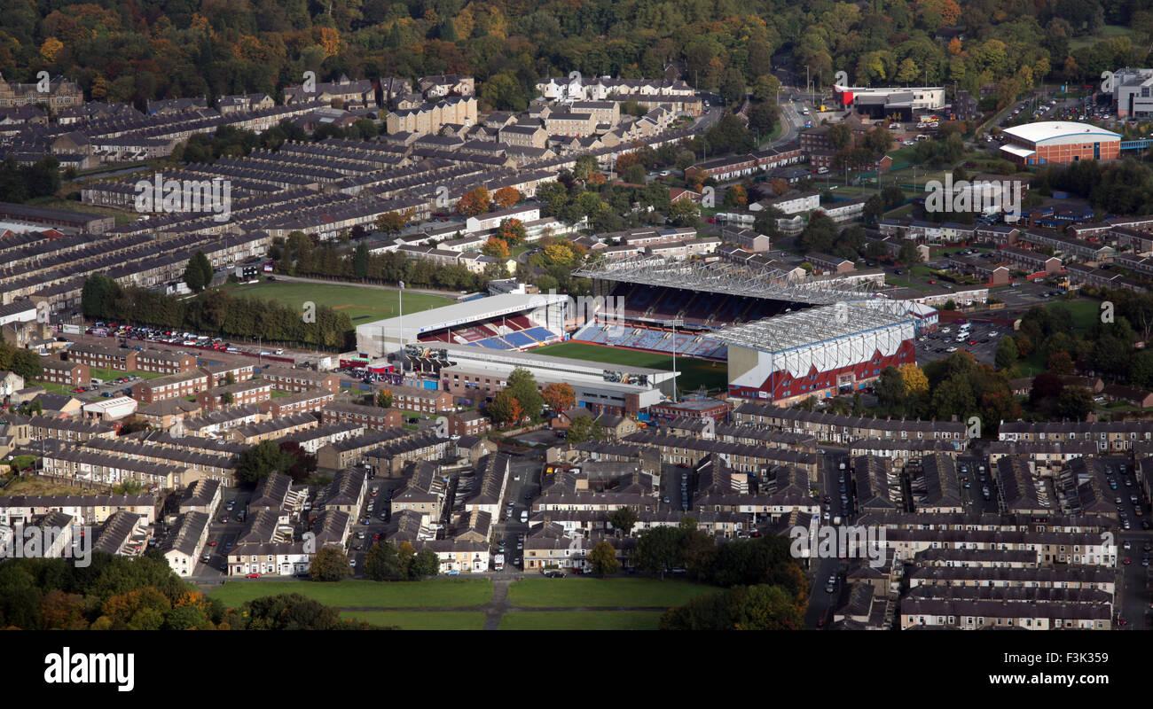 aerial view of Burnley FC Turf Moor stadium, a UK football ...