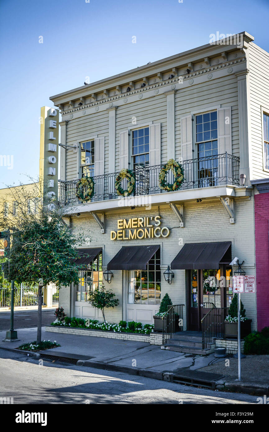 The Famous Emeril 39 S Delmonico Restaurant In The Lower Garden Stock Photo Royalty Free Image