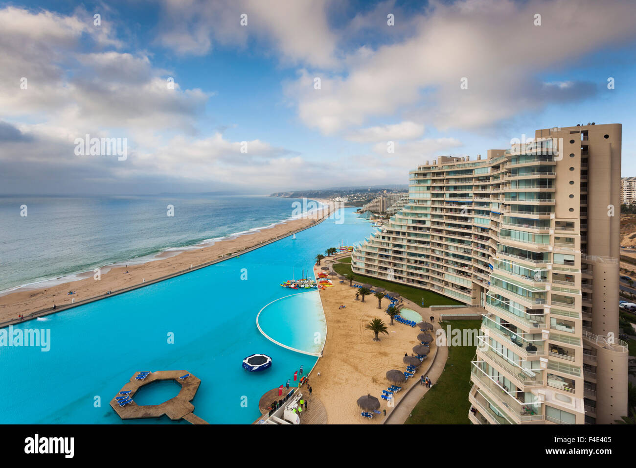 Chile Algarrobo San Alfonso Del Mar Resort Has The World 39 S Largest Stock Photo Royalty Free