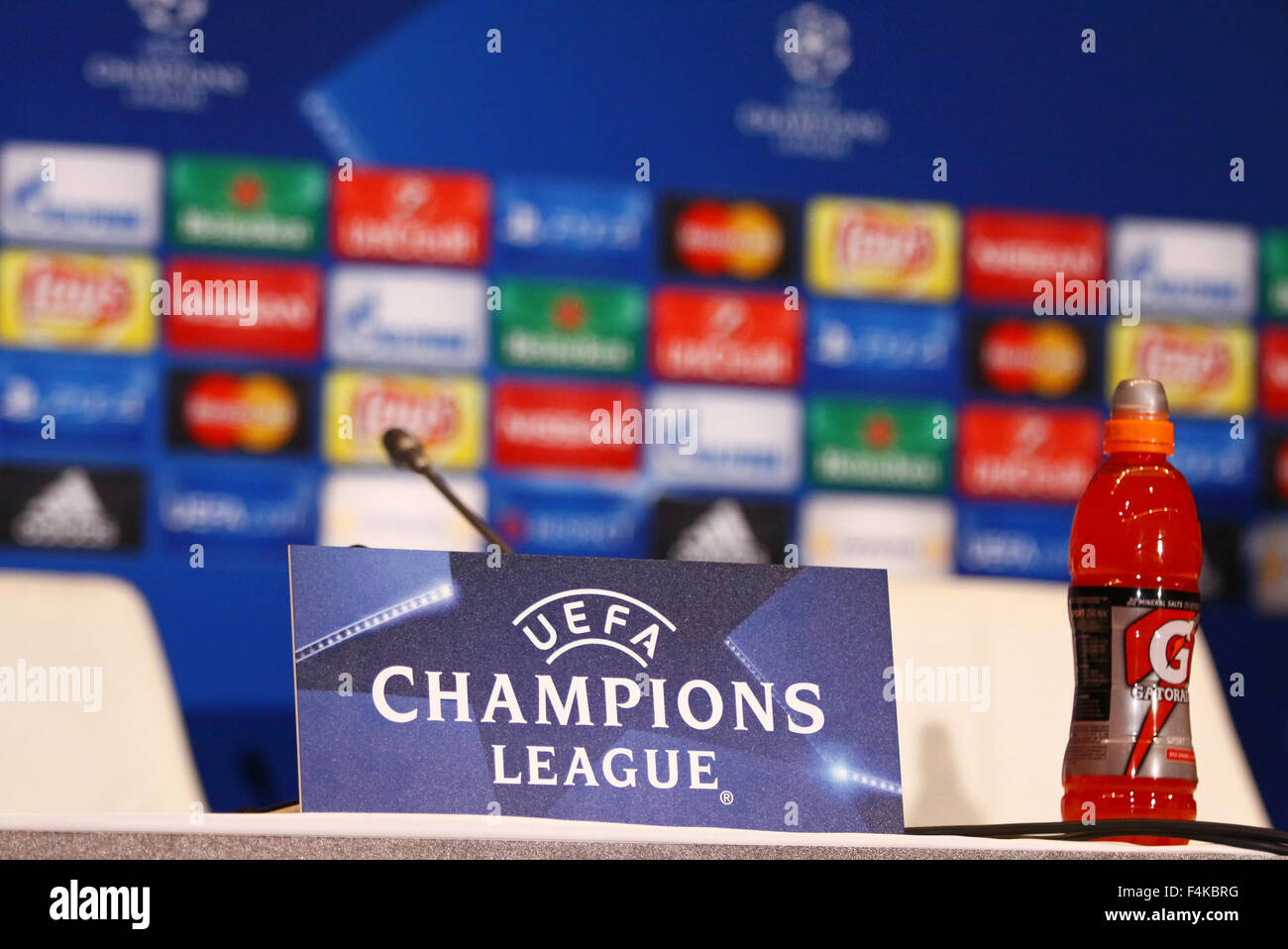 Kyiv ukraine october 19 2015 press room details seen - English conference national league table ...