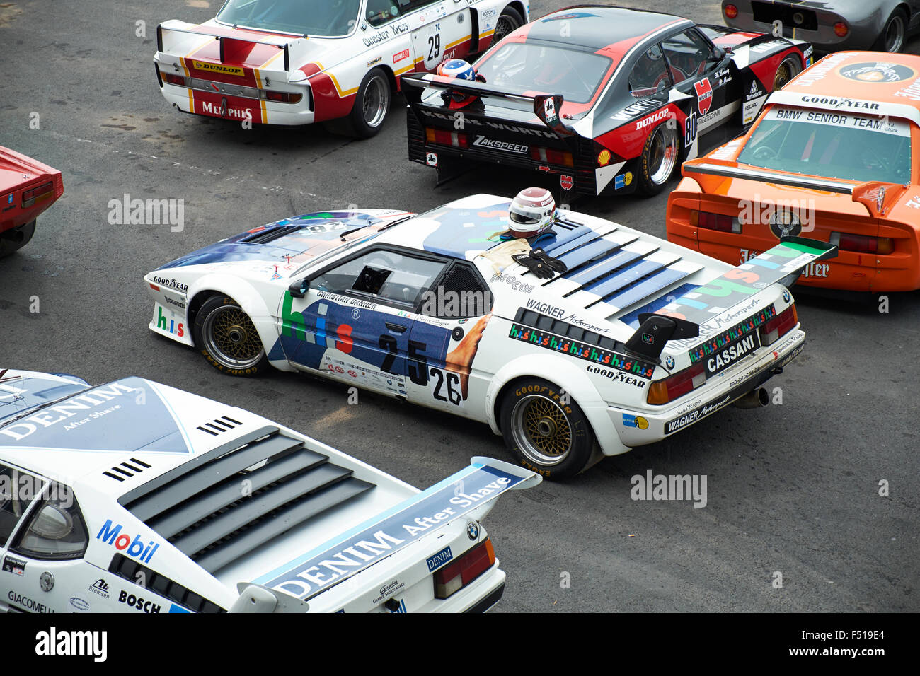 bmw m1 procar 1979 german racing championship stock photo royalty free image 89154524 alamy. Black Bedroom Furniture Sets. Home Design Ideas