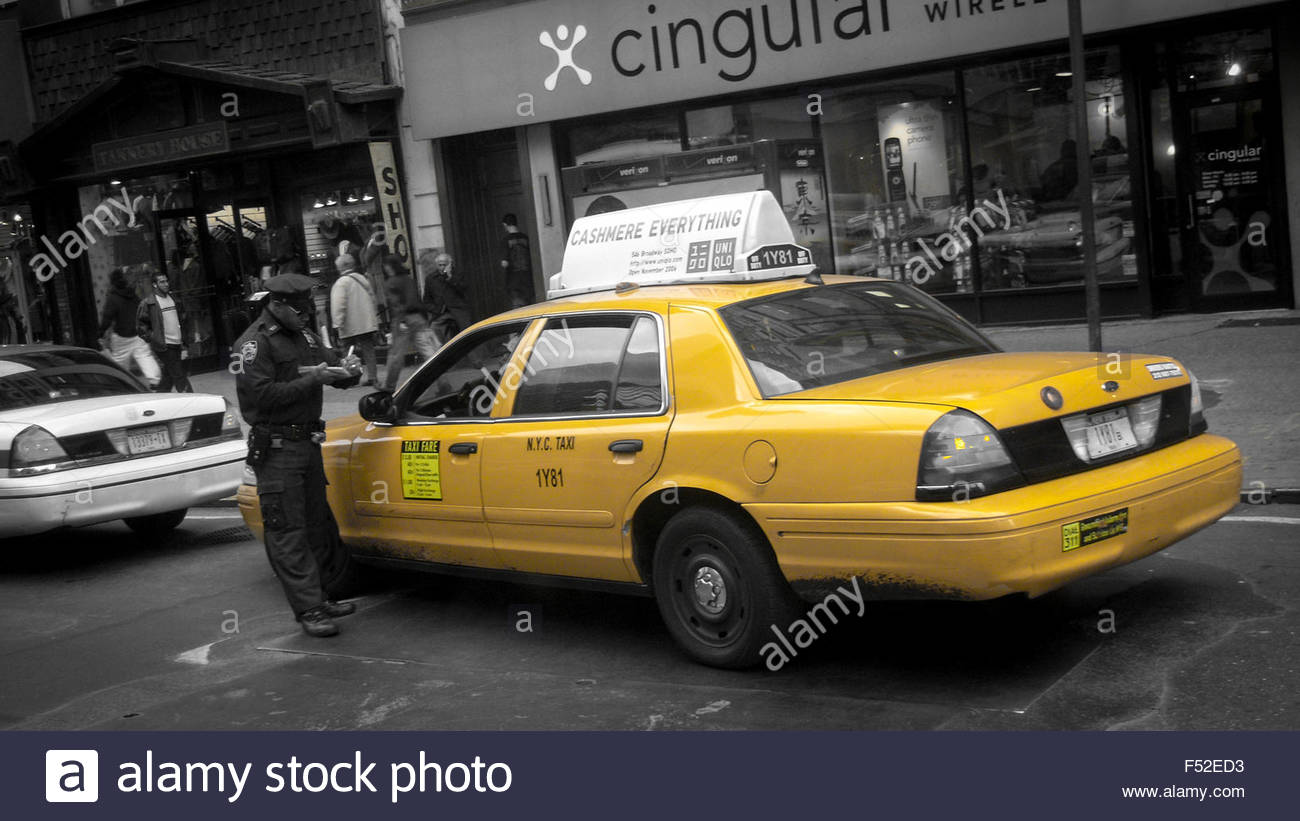 new-york-yellow-cab-getting-a-ticket-new