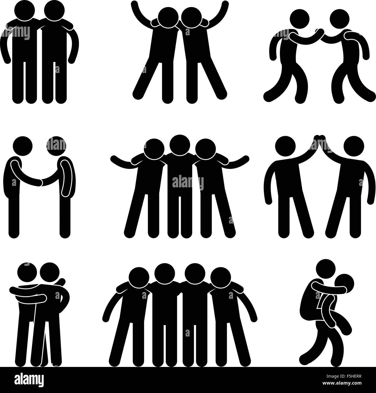 friend friendship relationship teammate teamwork society