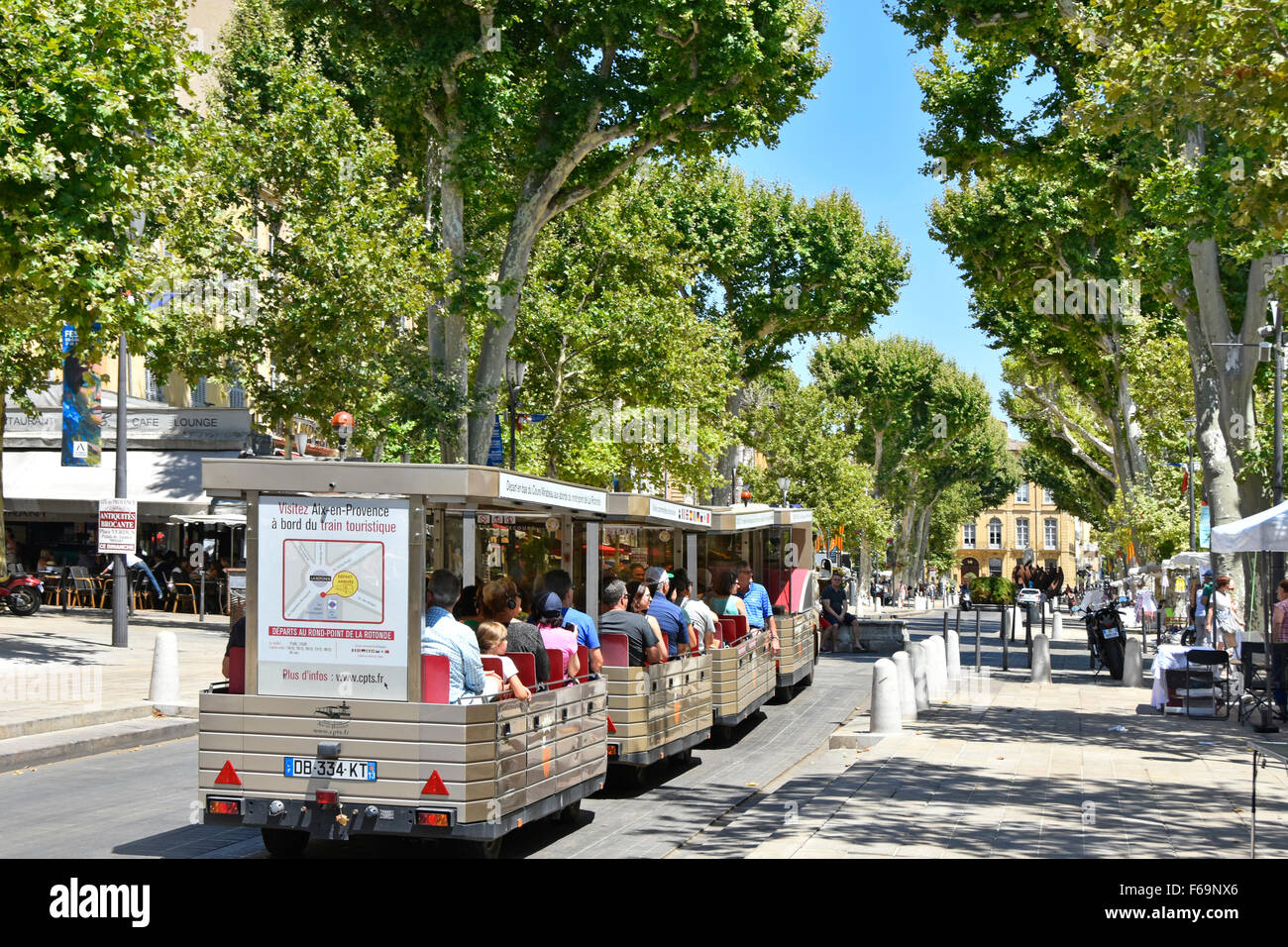 aix en provence provence france south of france land train stock photo royalty free image. Black Bedroom Furniture Sets. Home Design Ideas