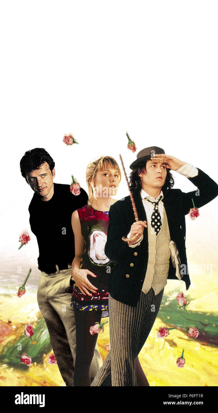 Apr 16, 1993; Spokane, WA, USA; Key poster art featuring (left to right) AIDAN QUINN as Benjamin 'Benny' Pearl, Stock Photo