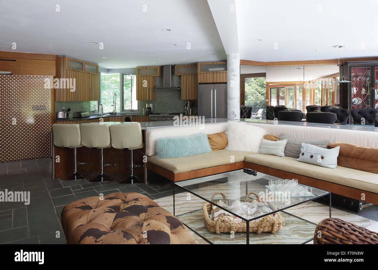 Usonia Home Kitchen