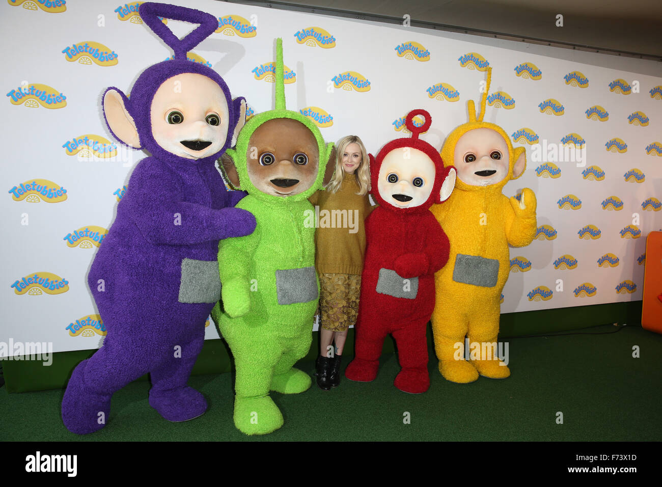 World Premiere Of Teletubbies Tv Series For Cbeebies Held