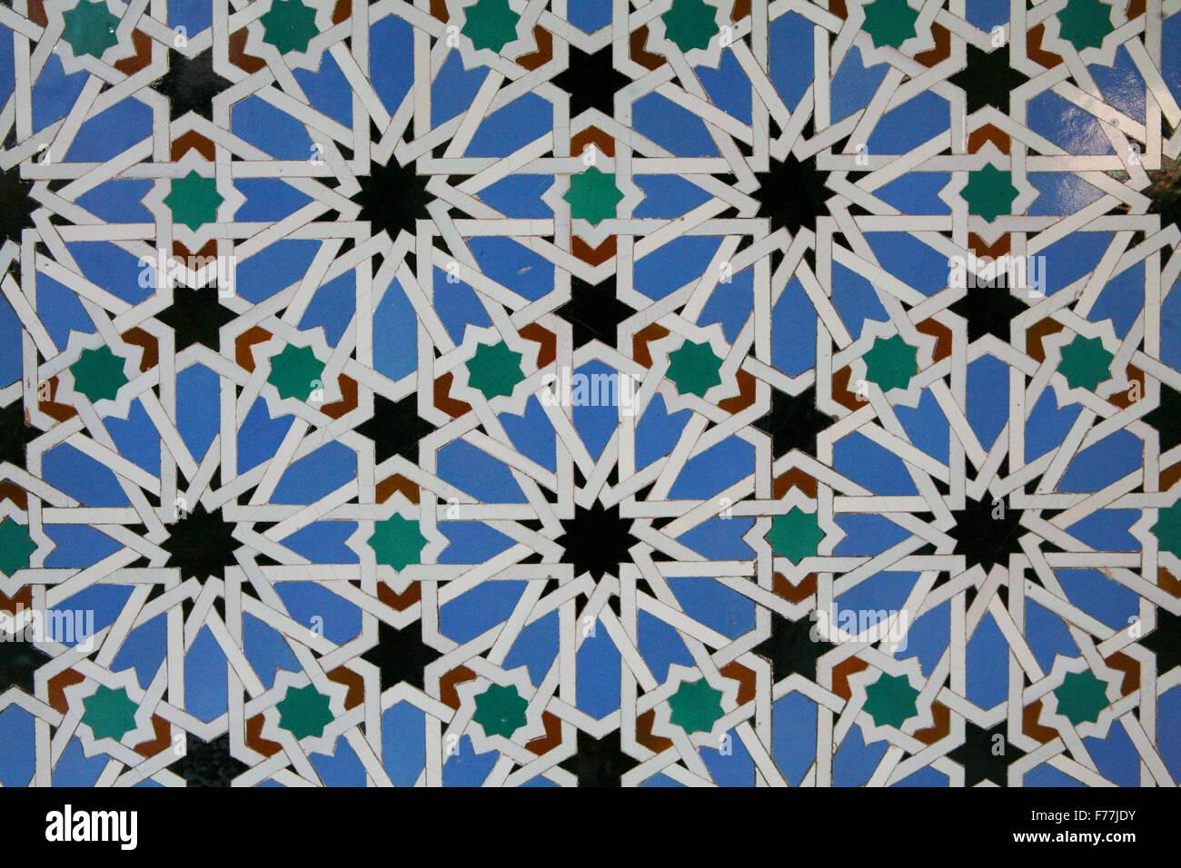 Azulejos tiles in the mudejar style casa de pilatos for Casa de azulejos cordoba