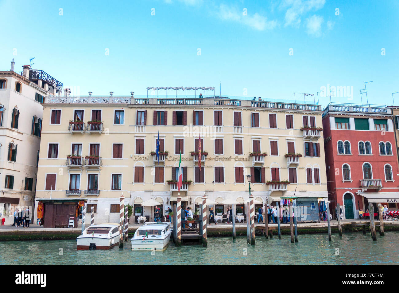 Hotel Carlton On The Grand Canal Venice Italy