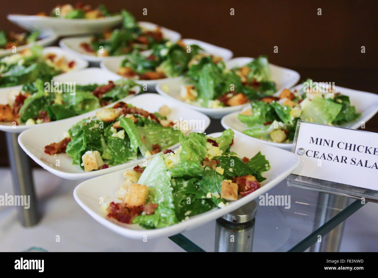 Stock Photo - vietnamese buffet with many kind of food