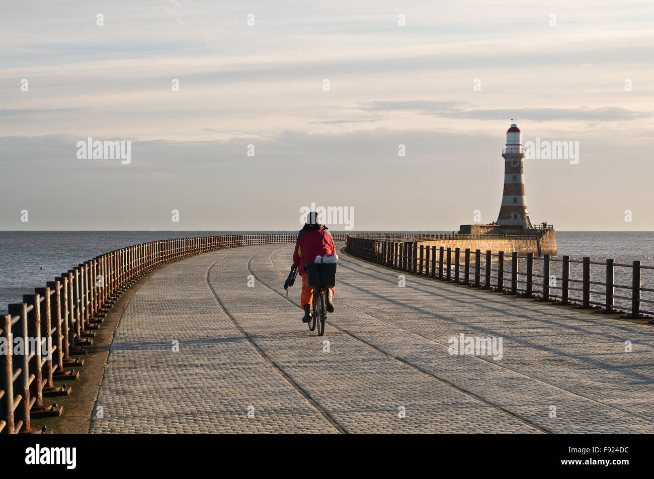 angler-cycling-along-roker-north-pier-ro