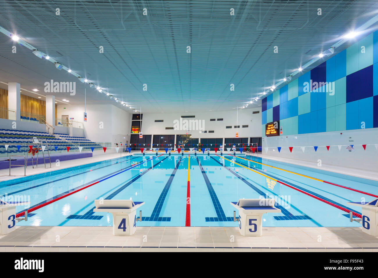 The Glass Mill Leisure Centre Is Situated On The Lowest Three Floors Stock Photo Royalty Free