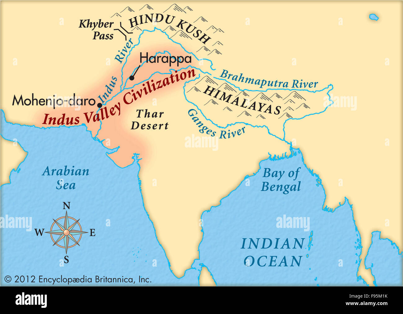 Indus Valley Civilization Stock Photo