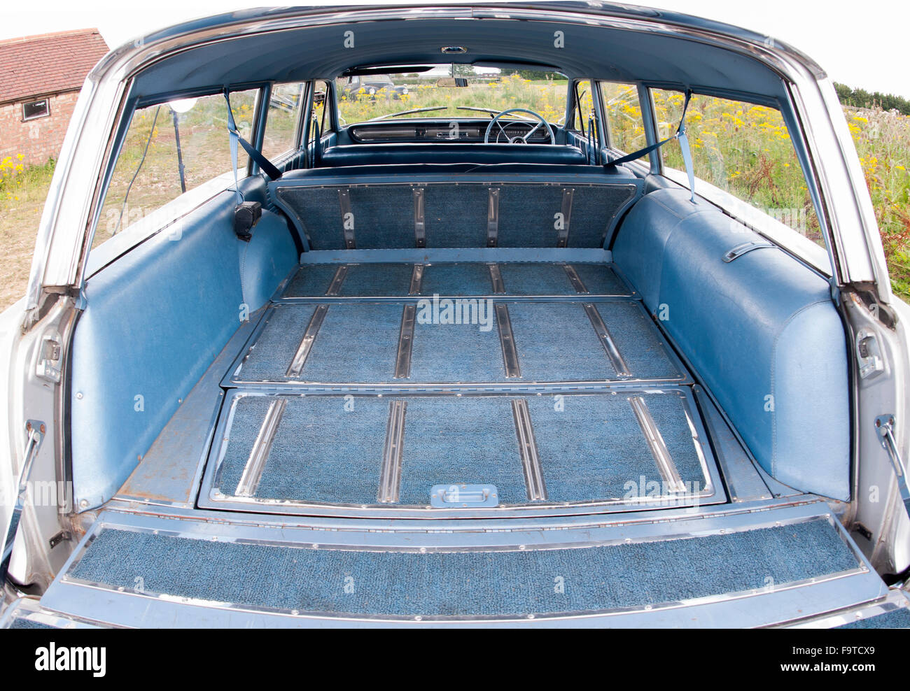 1964 pontiac parisienne american station wagon estate car with the stock photo royalty free. Black Bedroom Furniture Sets. Home Design Ideas