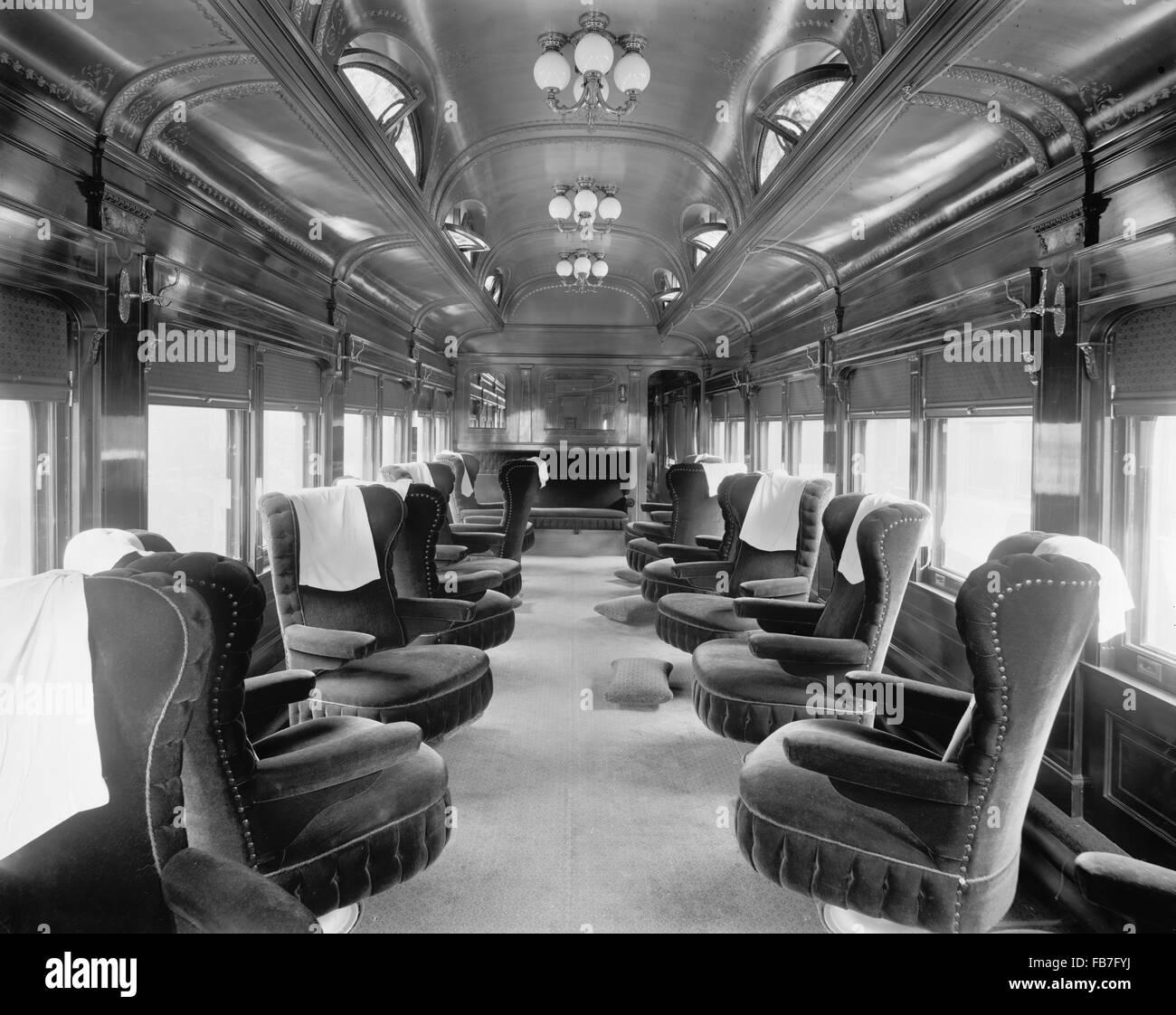 pere marquette railroad parlor car no 25 interior view usa 1910 stock photo 92979254 alamy. Black Bedroom Furniture Sets. Home Design Ideas