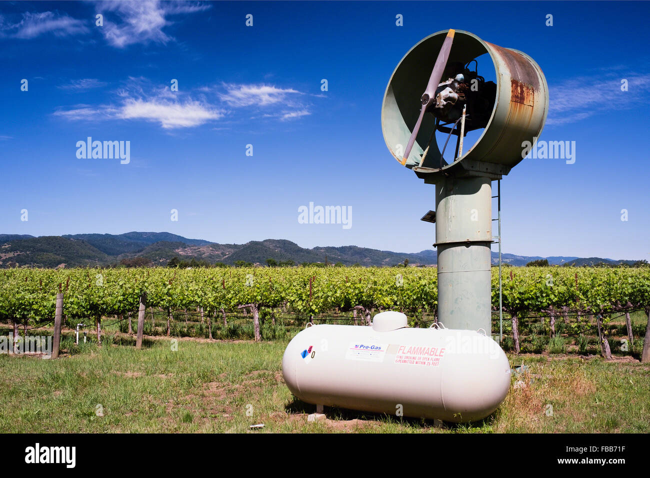 low-angle-view-of-a-wind-machine-in-a-vi