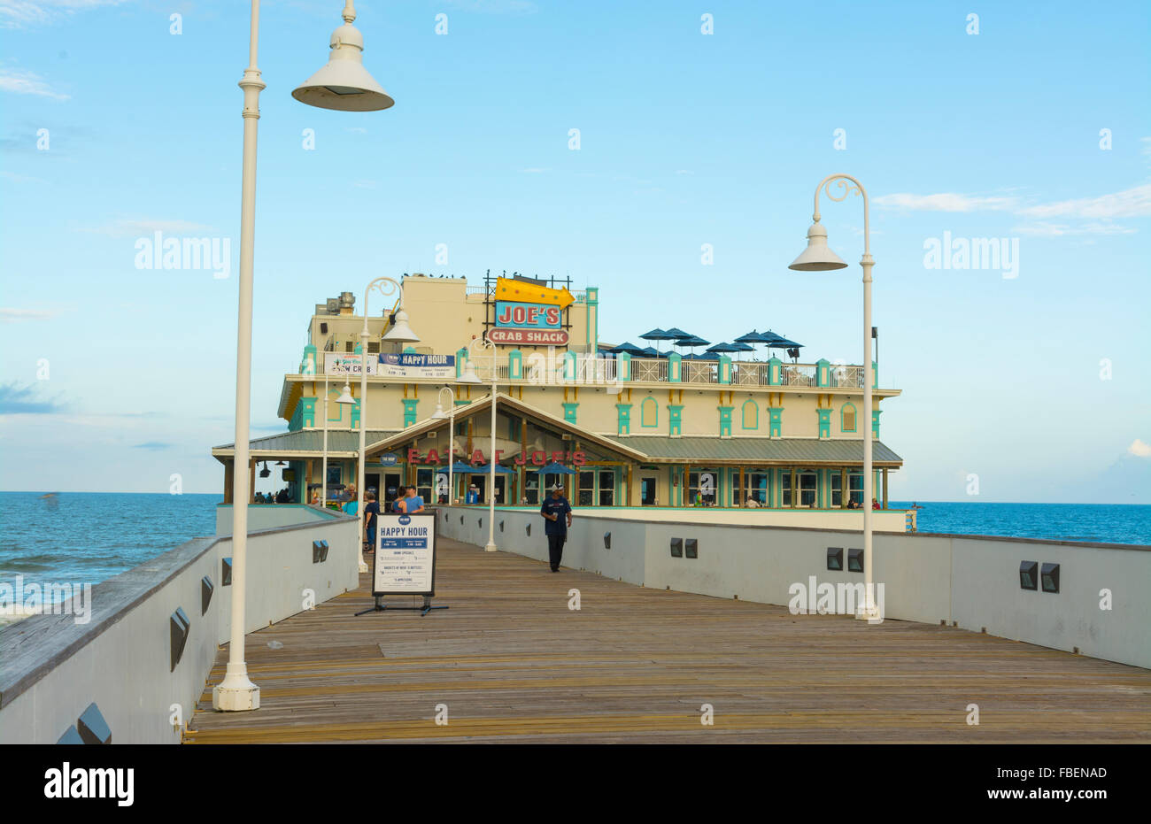 Daytona beach florida famous main street pier and for Daytona beach fishing pier