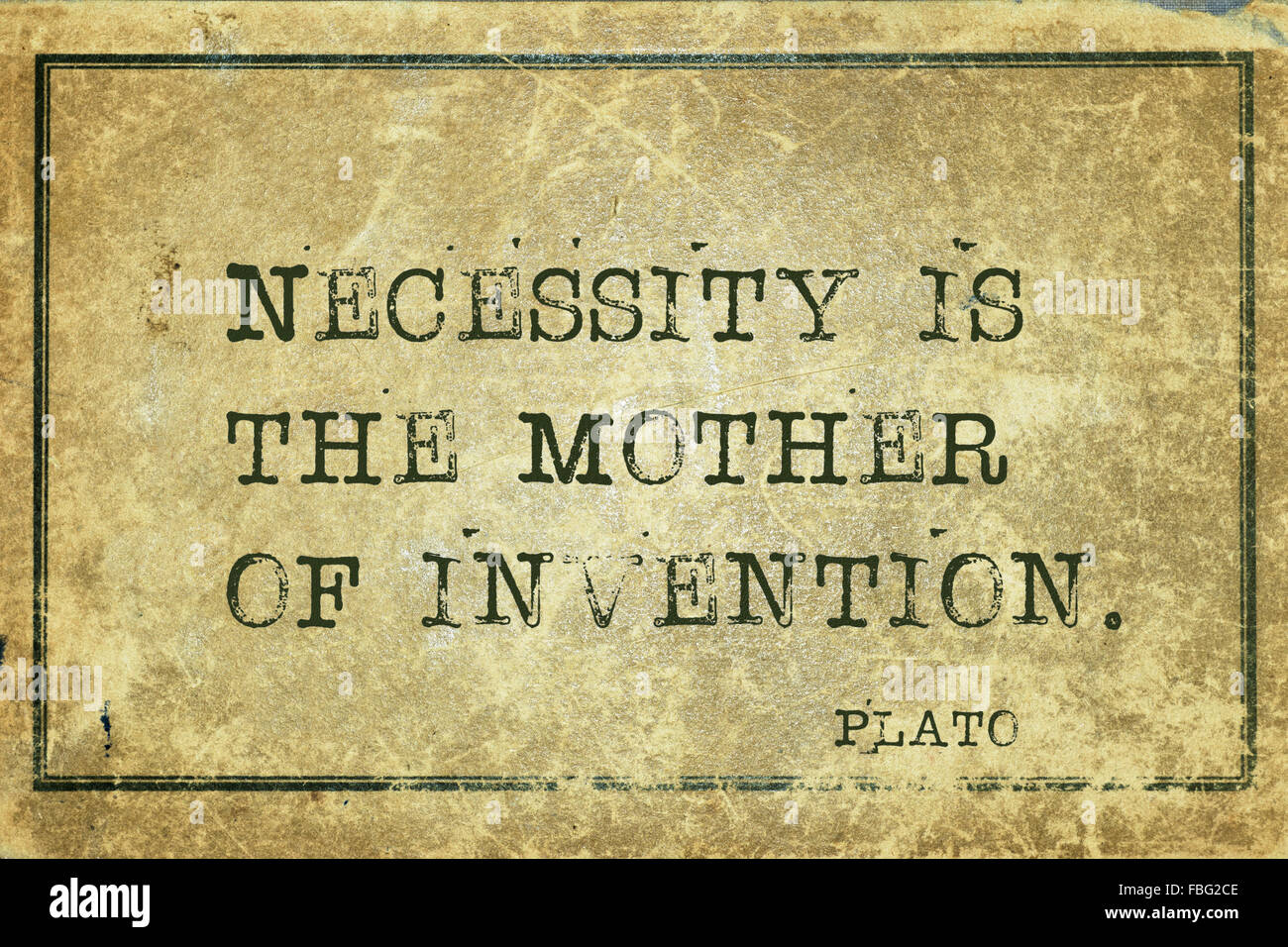 essay on necessity is the mother of invention Meaning: the meaning of the proverb necessity is the mother of invention is that when we stand in dire need of a thing, we can never rest satisfied until we get it.