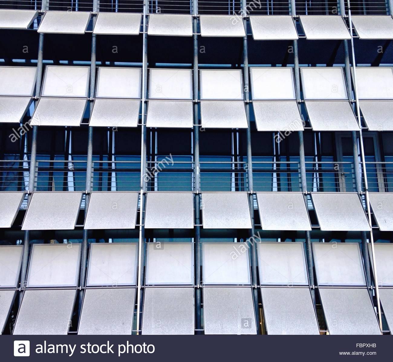 Full Frame Shot Of Modern Building Stock Foto