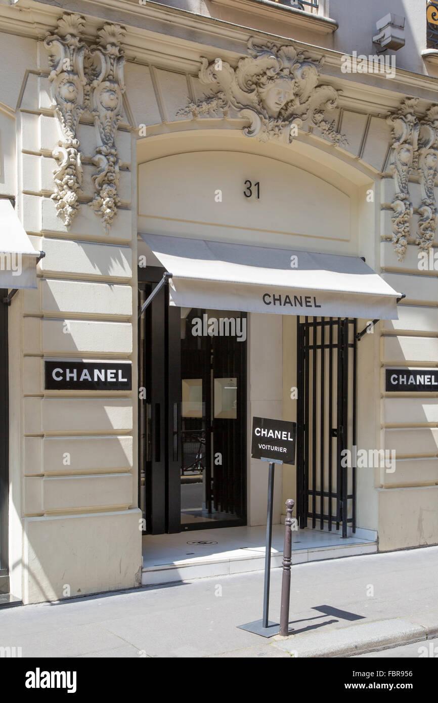 Coco chanel 39 s original store location 31 rue cambon for Chanel locations in paris