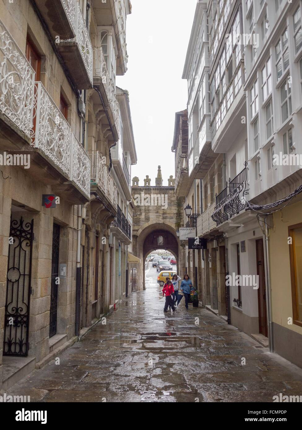 Puerta de carlos v en vivero o viveiro lugo galicia for Viveros en lugo