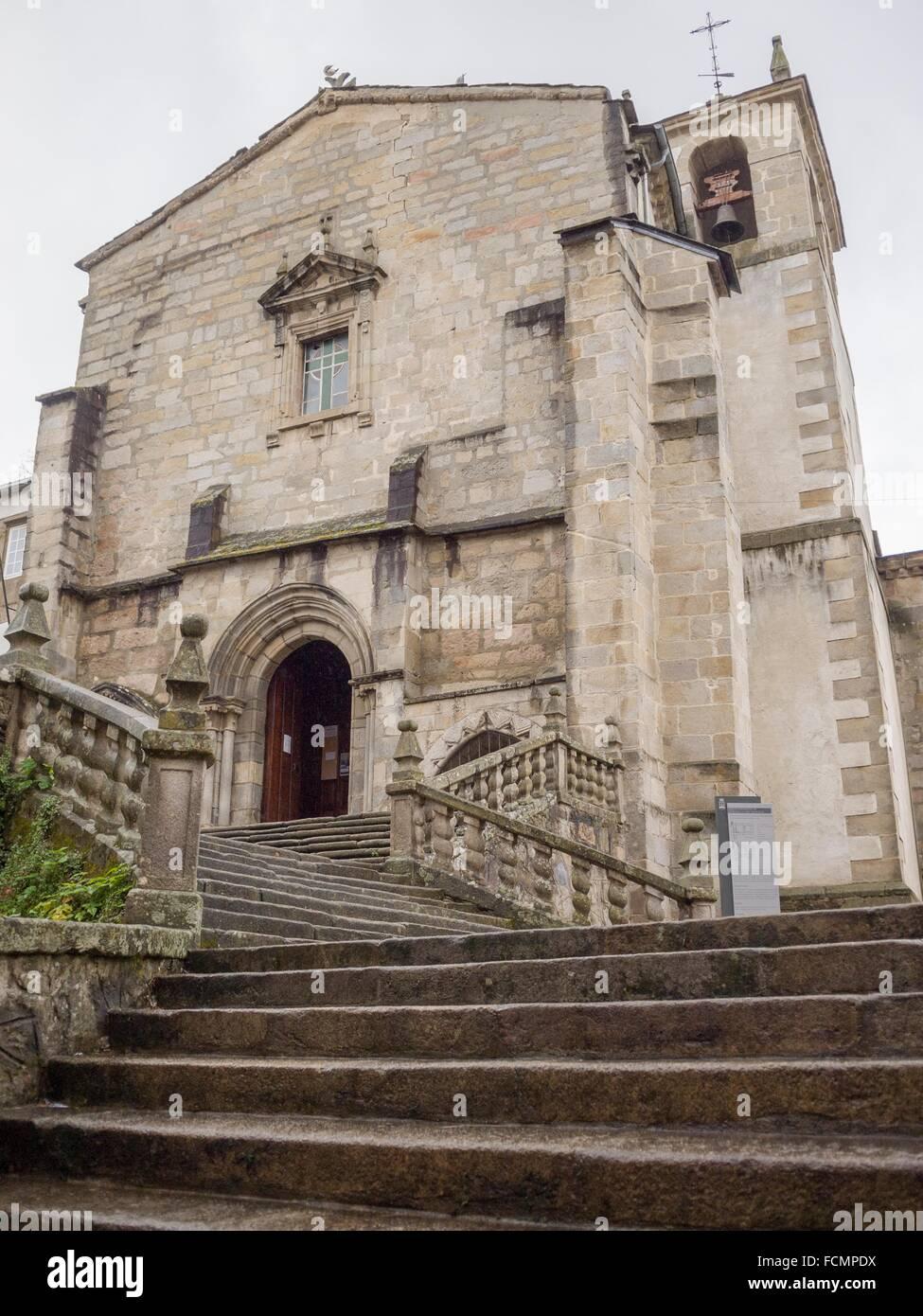 Iglesia de san francisco en vivero o viveiro lugo for Viveros en lugo