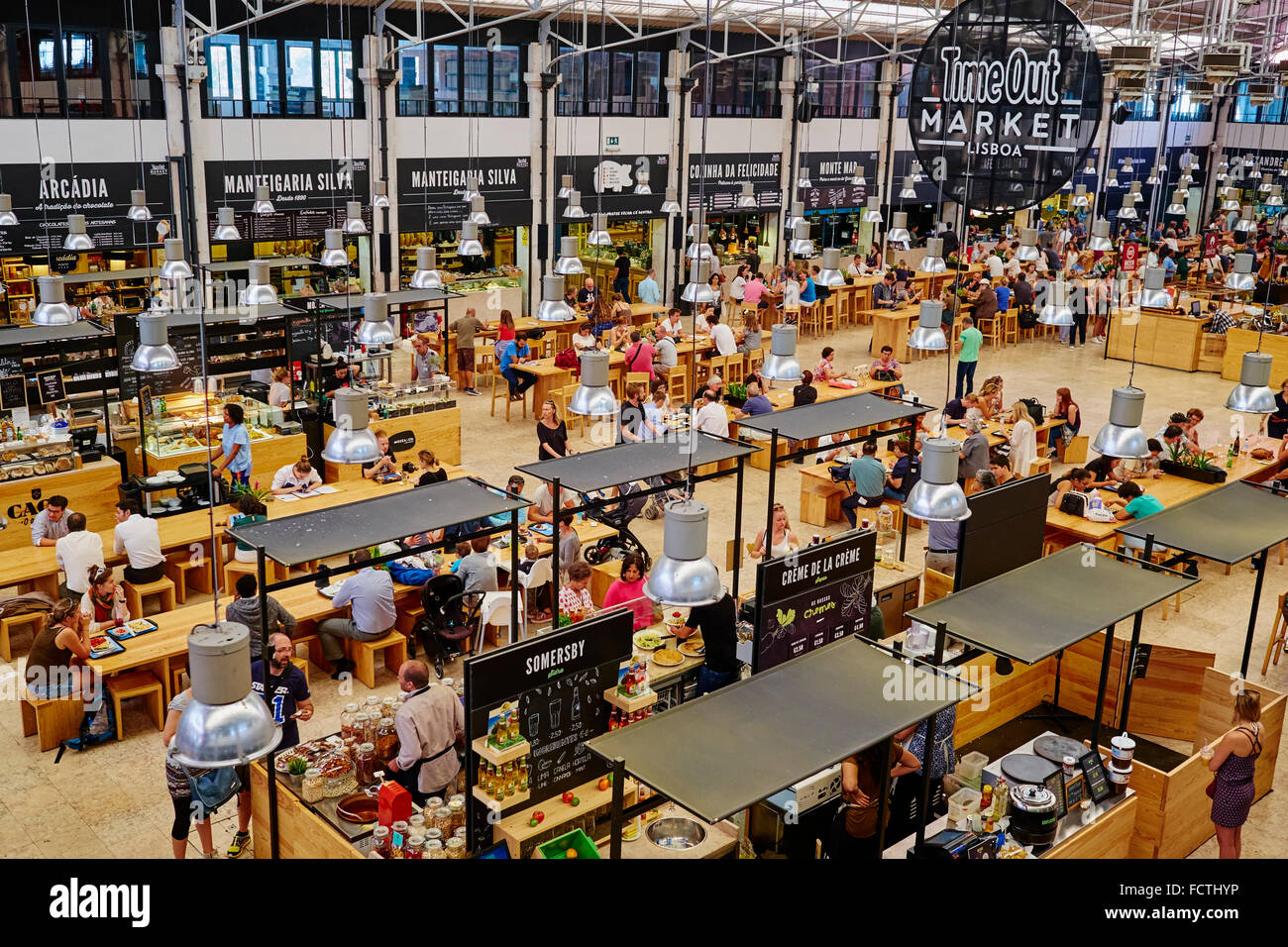 Mercado Da Ribeira Food Court