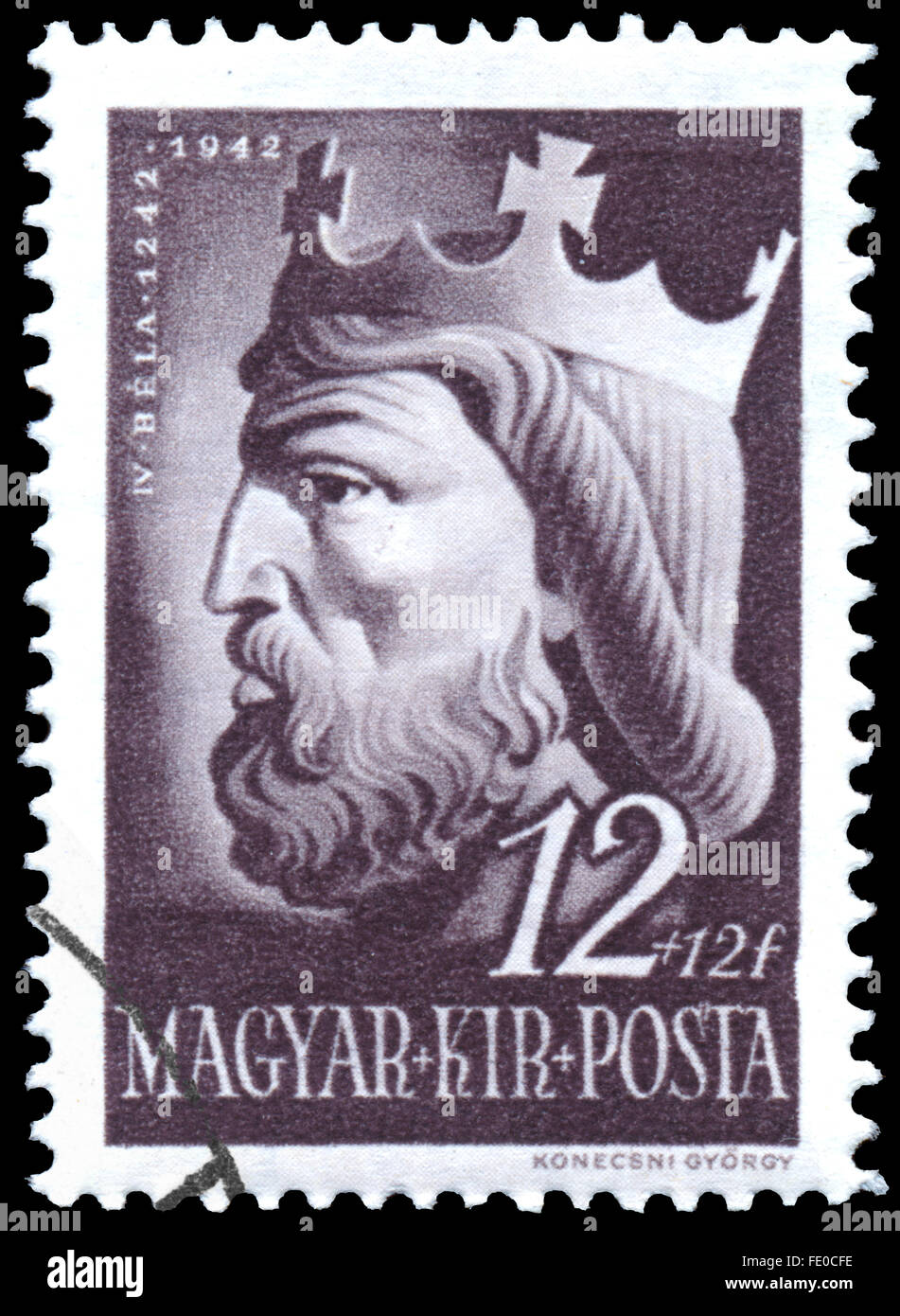 hungary-circa-1942-a-stamp-printed-in-hu