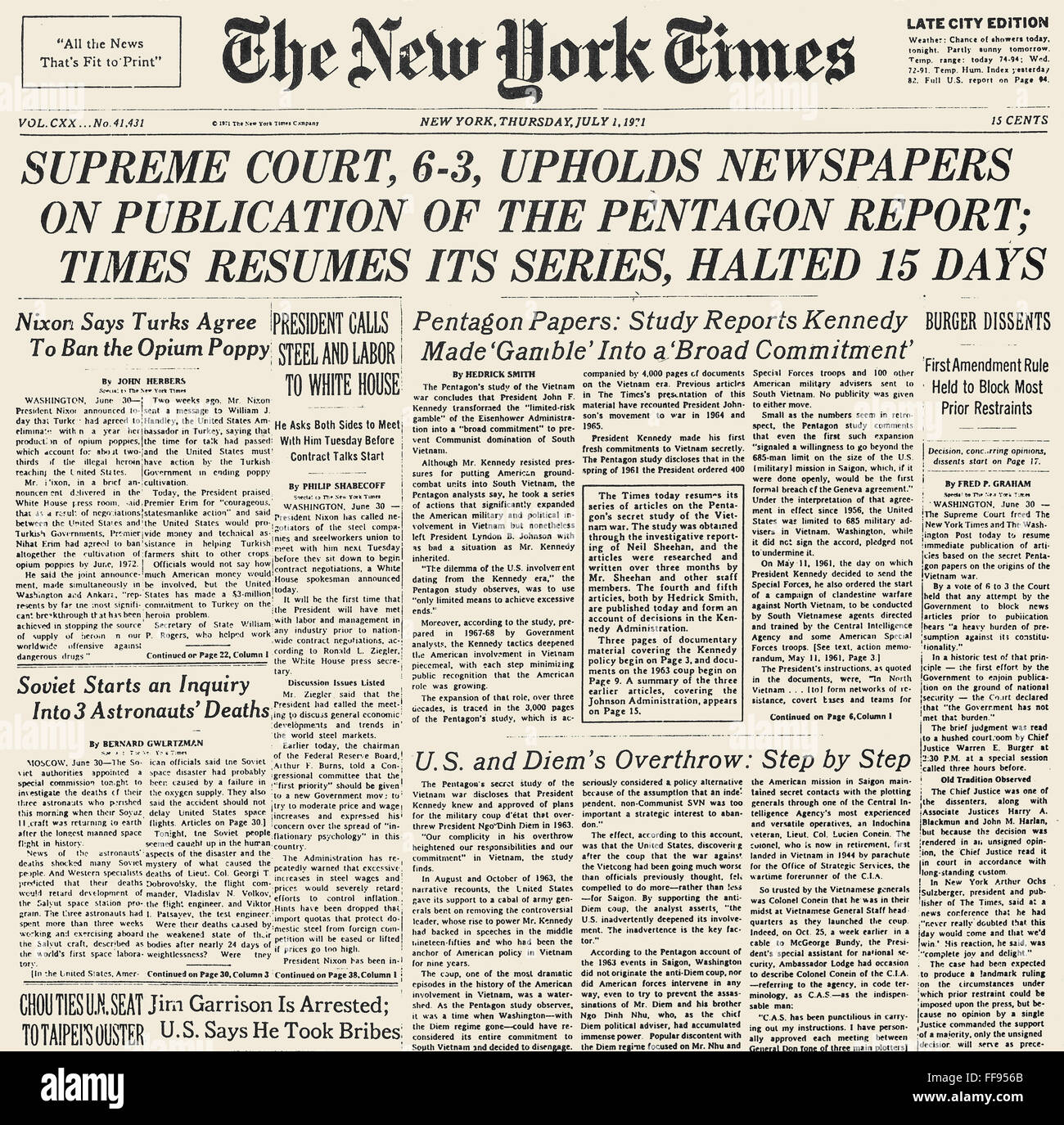 a case study of the pentagon papers essay