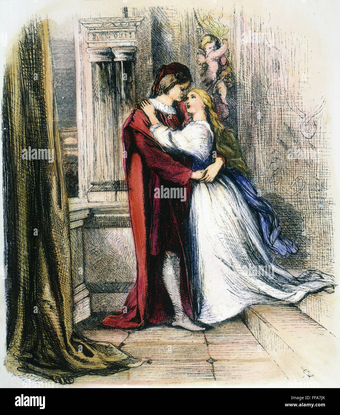 romeo and juliet sonnet balcony scene Romeo and juliet: annotated balcony scene, act 2, scene 2 please see the  bottom of the main scene page for more explanatory notes scene ii capulet's.