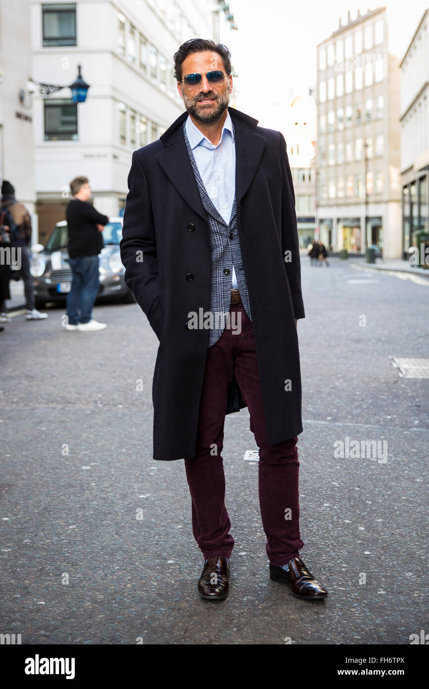 Street Style At London Collections Men Fashion Week