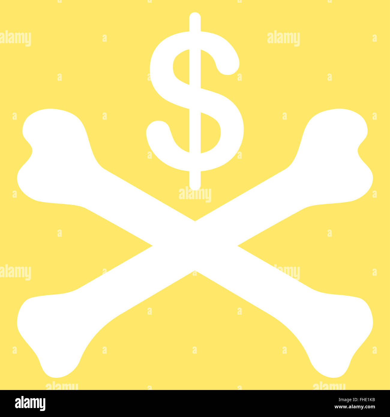 bankruptcy icon from commerce set stock photo royalty