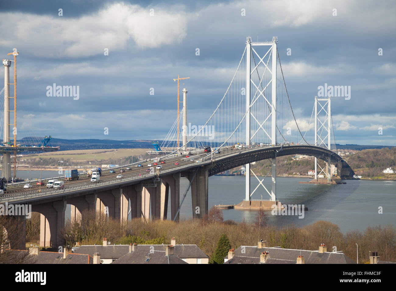 Building Of The Forth Road Bridge