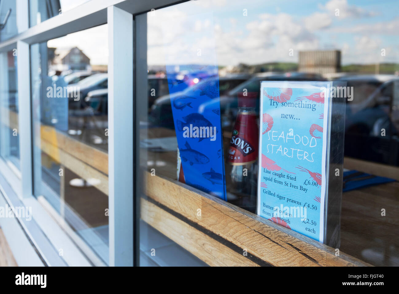 Rick stein 39 s fish and chip shop in padstow cornwall uk for Rick s fish and pet