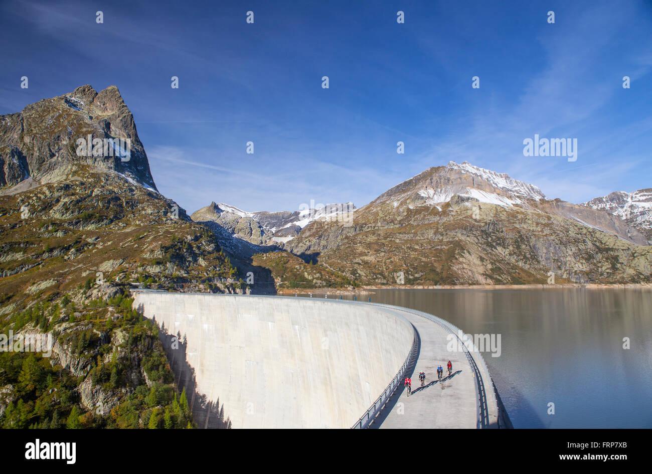 Emosson Dam Tour De France