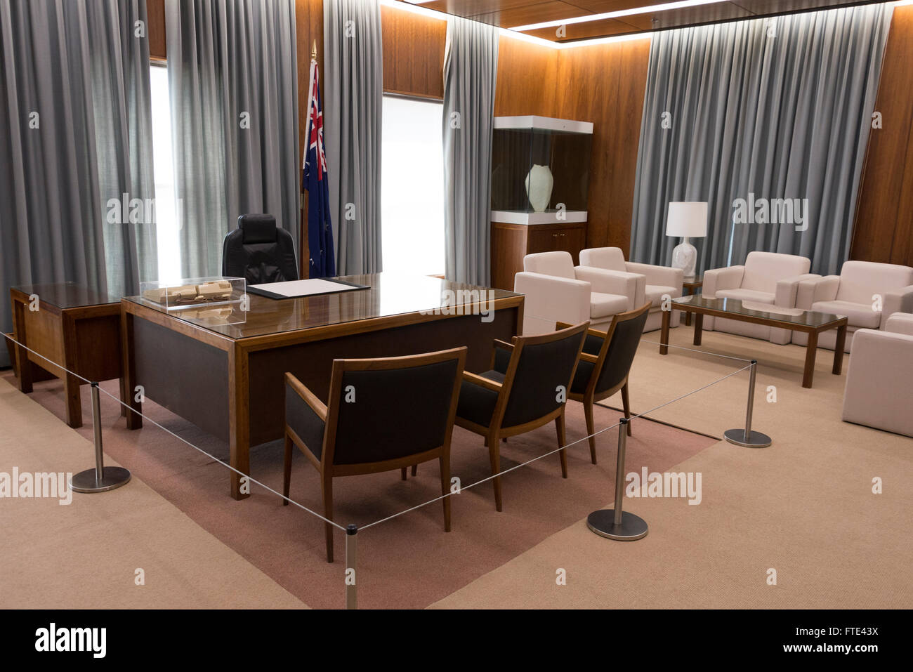 the australian prime minister 39 s office in the old parliament house stock photo royalty free. Black Bedroom Furniture Sets. Home Design Ideas