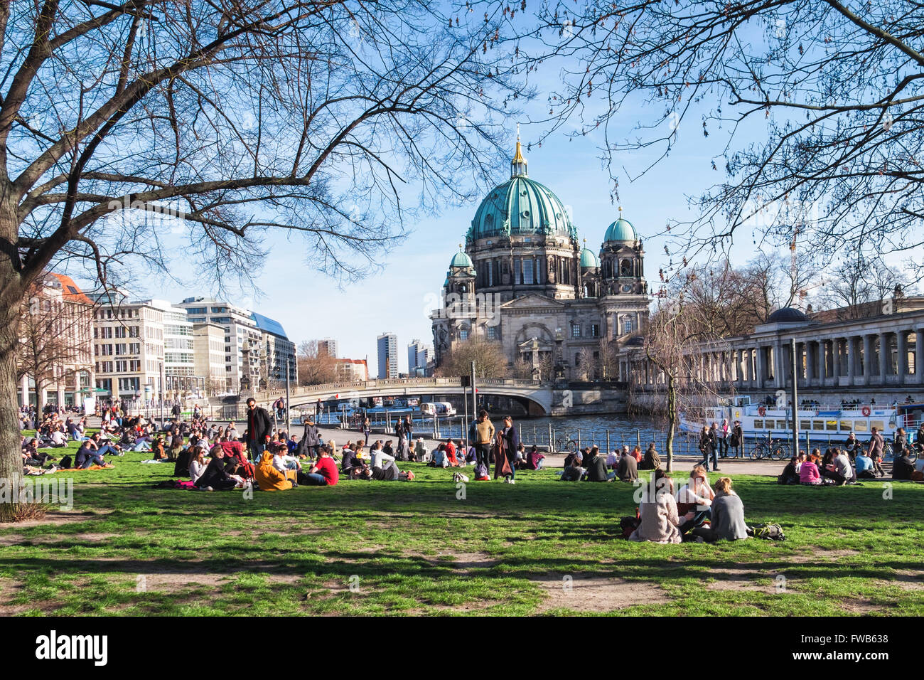 berlin germany 2nd april 2016 berlin parks markets and beach bars stock photo royalty free. Black Bedroom Furniture Sets. Home Design Ideas