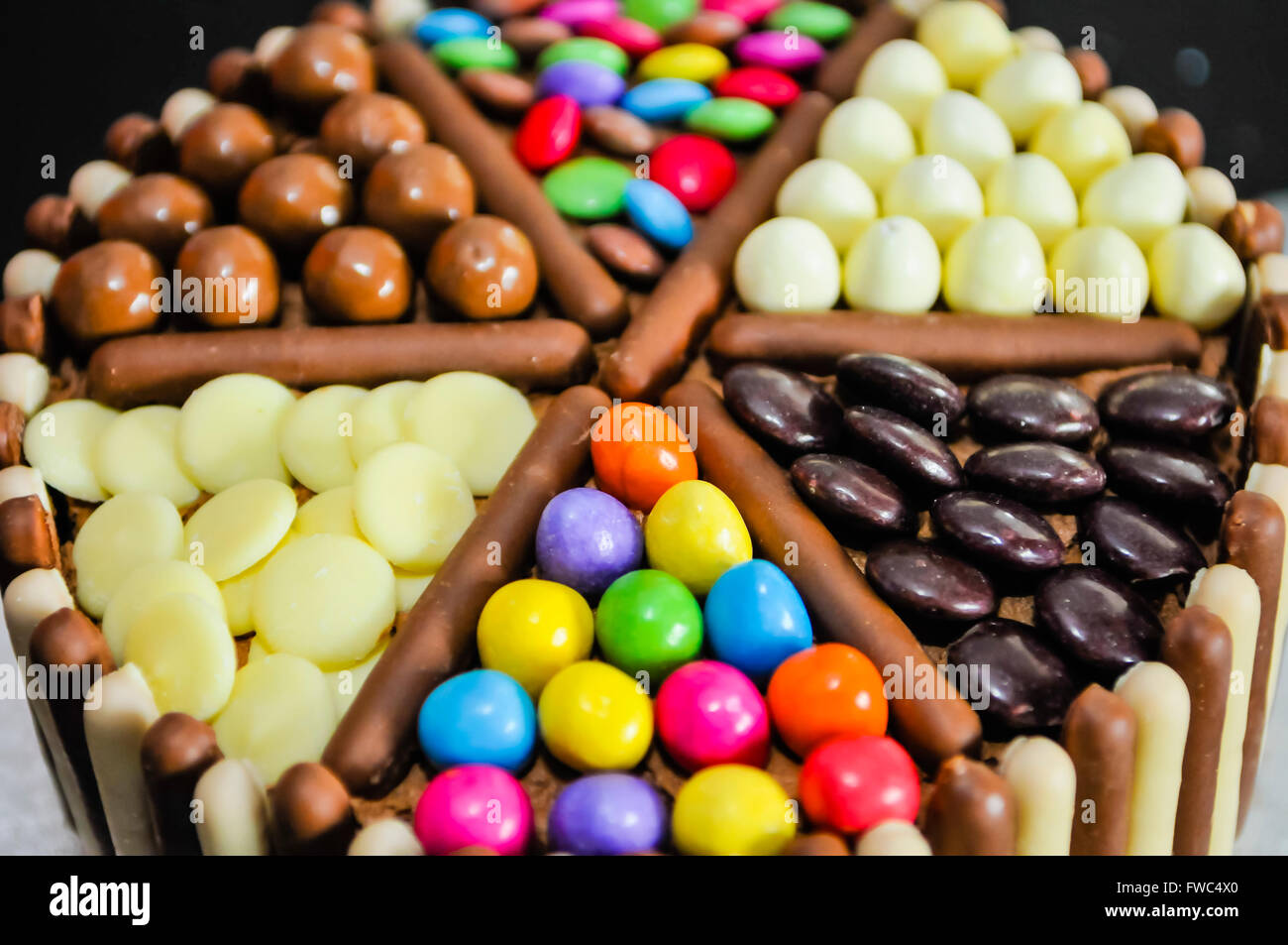 World Best Cake Images In Hd : M&Ms, Milky Way Buttons, Maltesers, Smarties Minstrels and ...