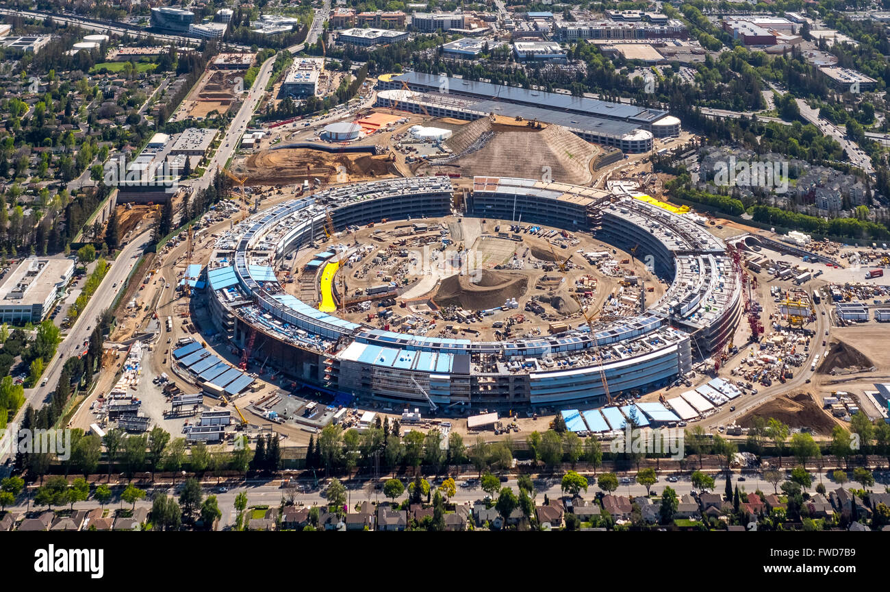 New apple campus ii aerial new apple computer campus - Swimming pool contractors apple valley ca ...