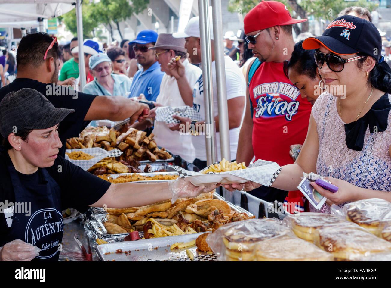 Calle Ocho Festival Food