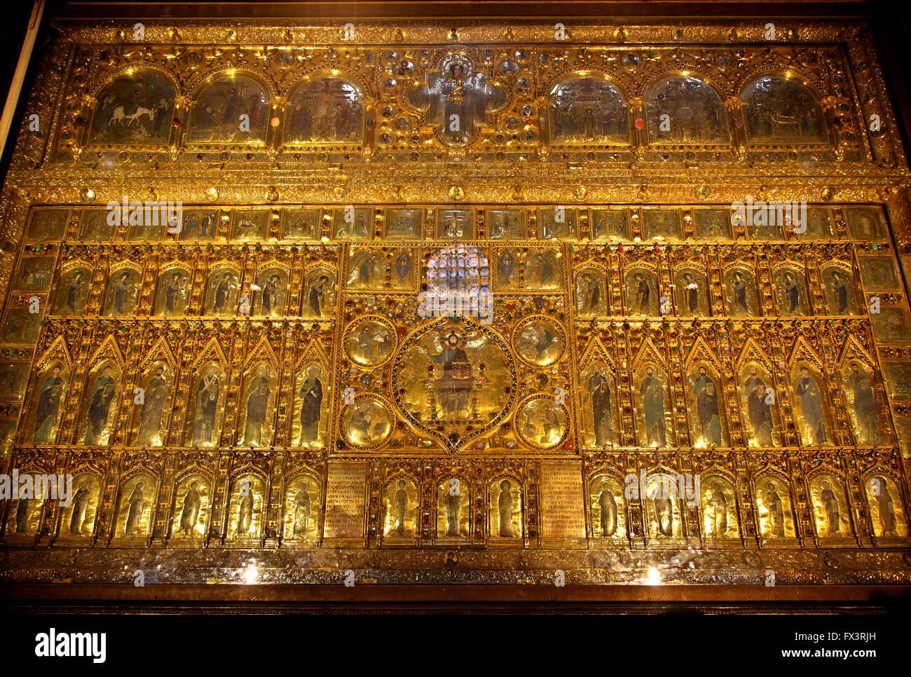 The pala d 39 oro in the basilica di san marco st mark for Pala de oro