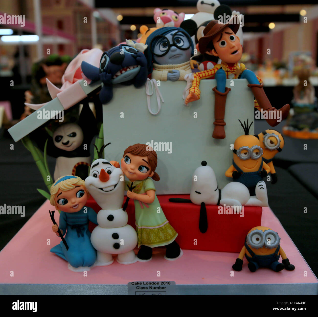 Cake Competition Uk April