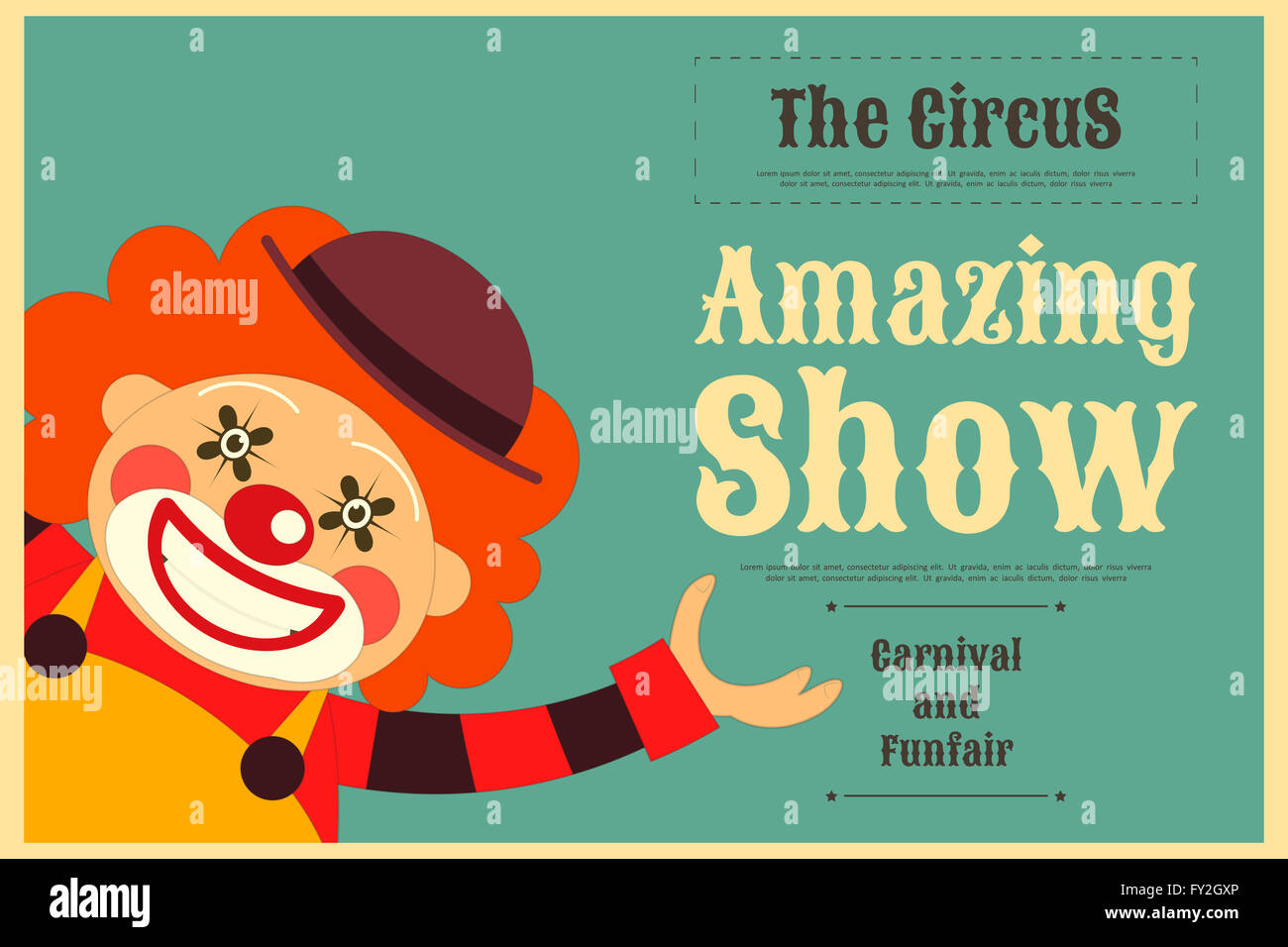 525433 also Freshly Squeezed Orange Juice Ads Vector also 104867 Vintage Style Car Advertising Poster Vector 02 furthermore Details furthermore Stock Photo Circus Poster In Vintage Style Cartoon Style Circus Clown Illustration 102704750. on cartoon animal ads