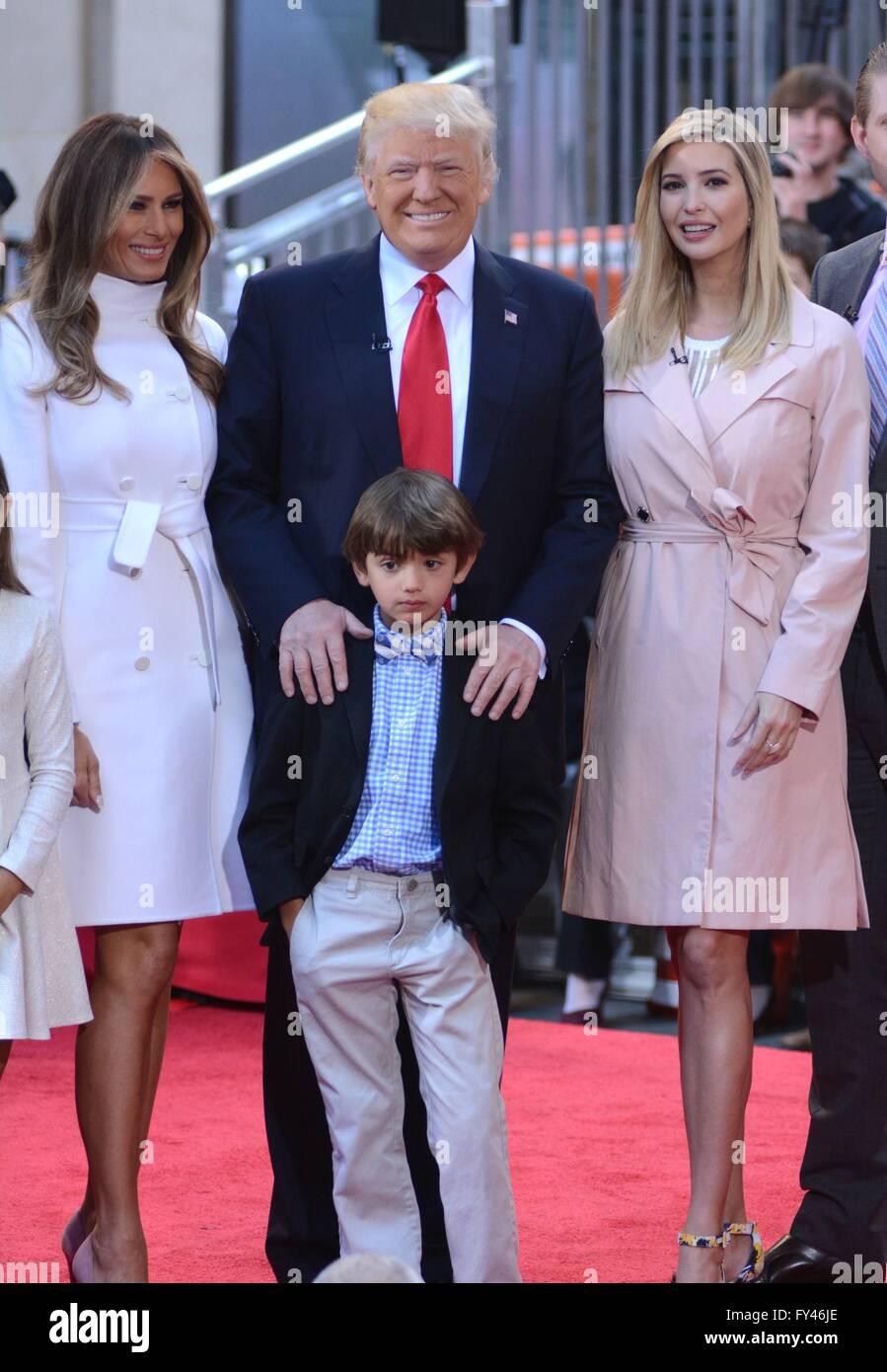 Trump 21 World Depicted As Greek Deity Gaia From: New York, Ny, Usa. 21st Apr, 2016. Melania Knauss Trump