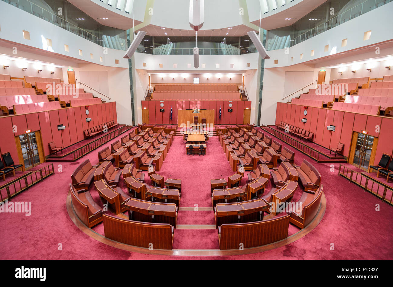 Inside the Parliament Building in Canberra, Australia ...