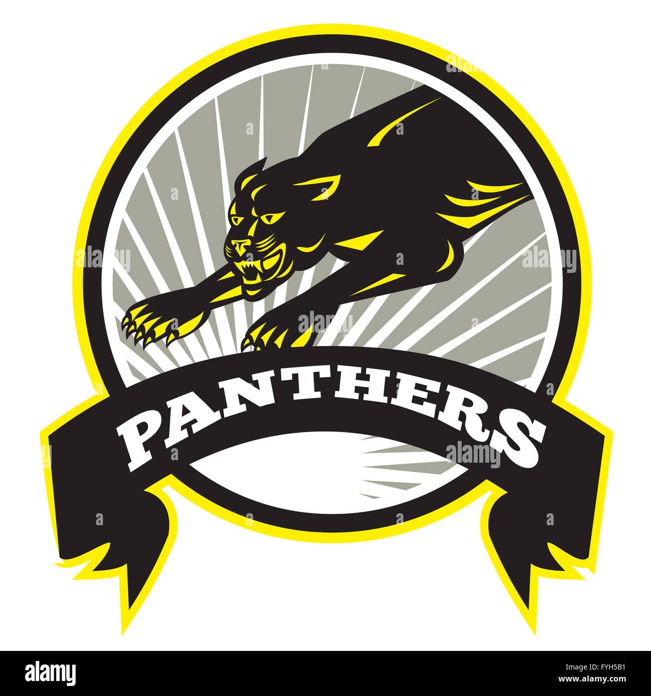 Black Jaguar Growl: Panther Big Cat Growling Stock Photo, Royalty Free Image