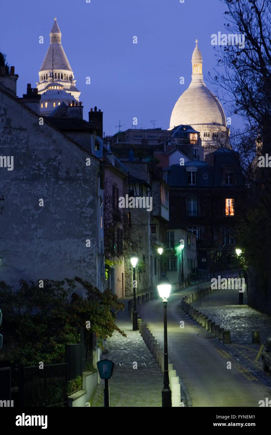 Montmartre Paris France Stock Photo