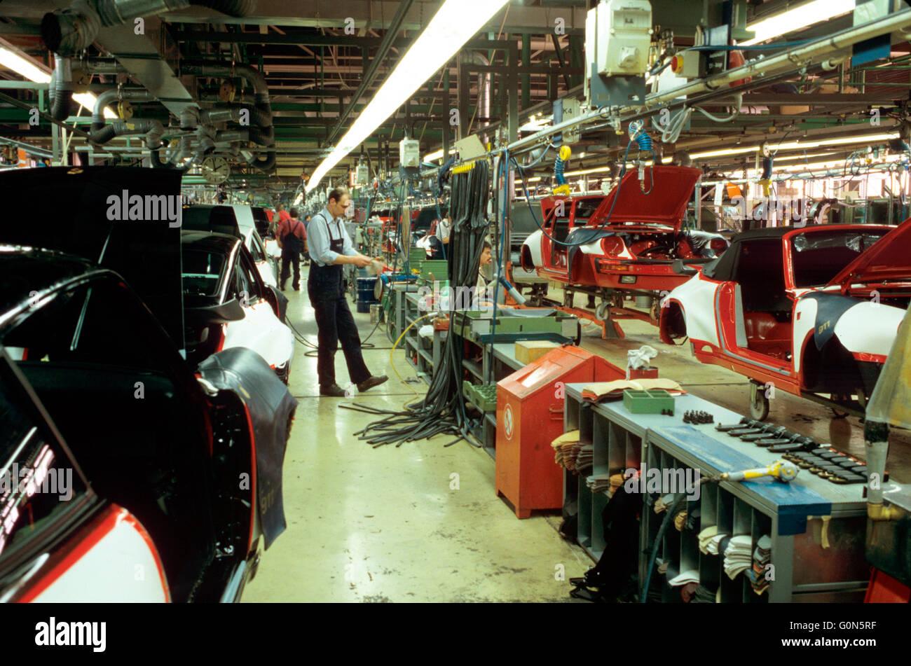 Porsche Factory In Stuttgart Zuffenhausen Germany New