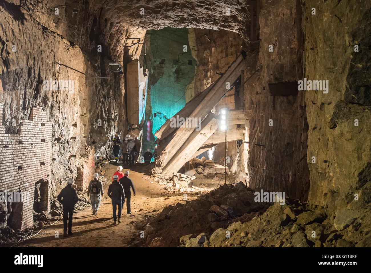 Porta westfalica germany 07th may 2016 visitors walk - Porta westfalica mobel ...